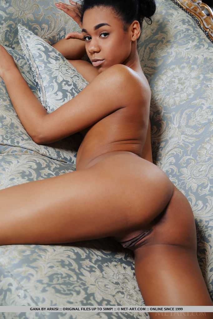 Hot ebony model