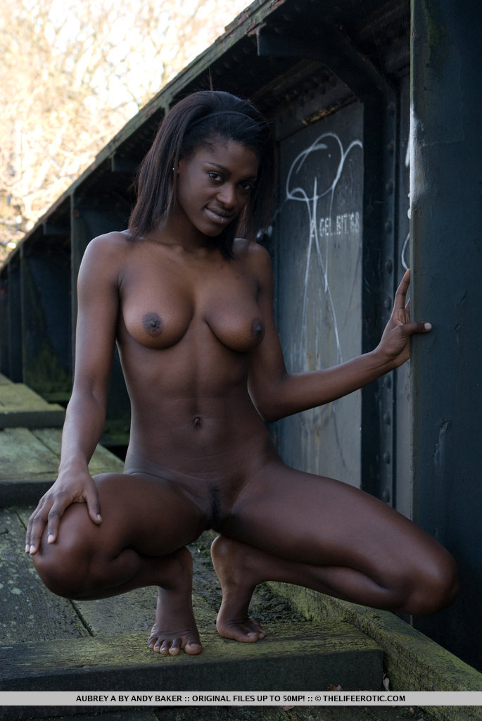 Beautiful black nude models-5811