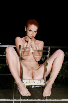Sexy Red Haired Woman Naked