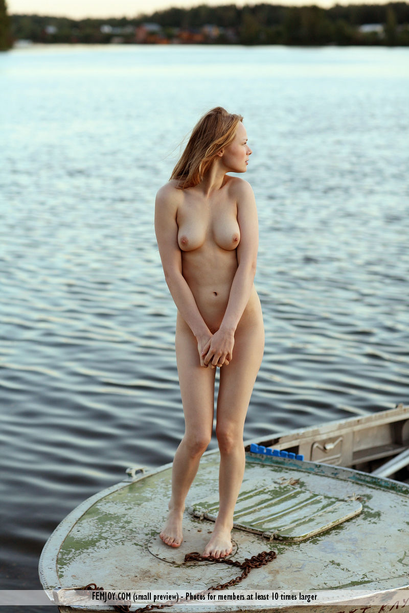 Very young blonde chicks boating regret
