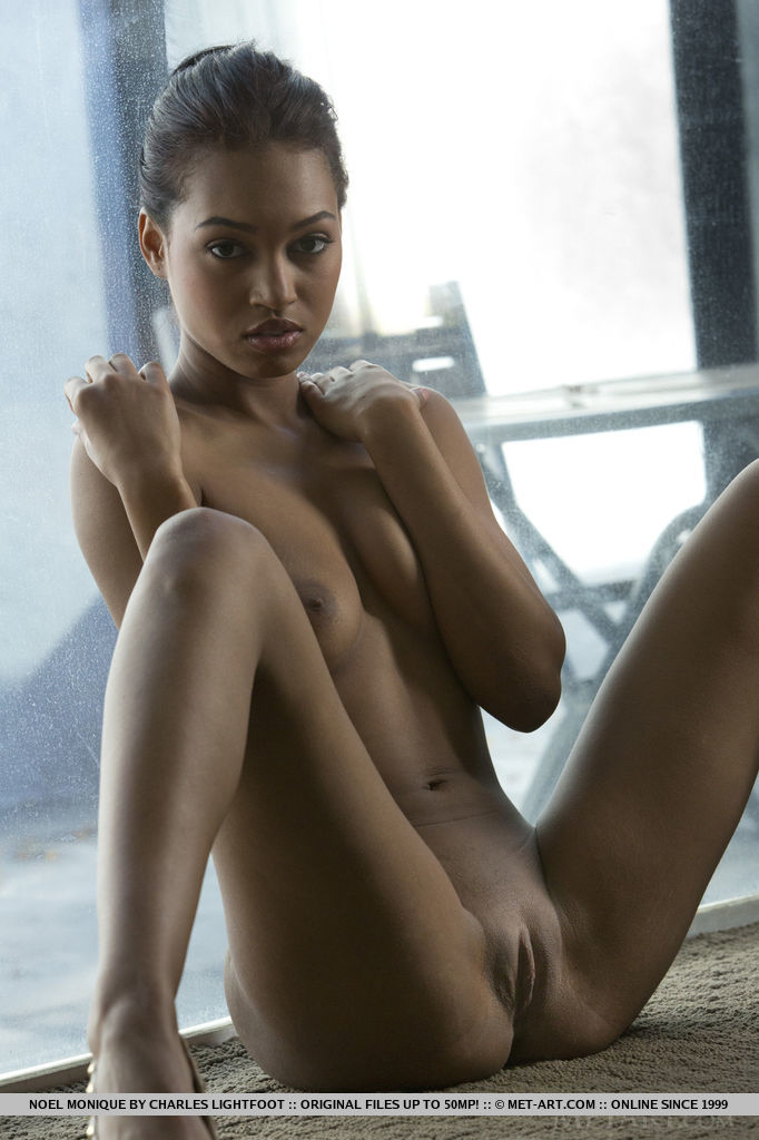 naked really dark black girls