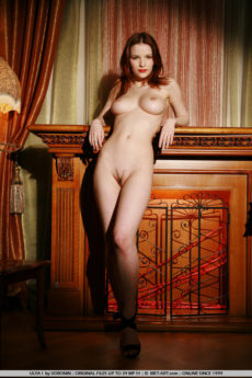 Yummy Redhead Woman Naked